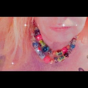 Eclectic Bead Necklace